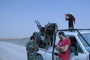 Kämpfer einer Miliz in Libyen